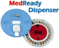 alerts 911,medready dispenser, elderly.in-home care, independent living, seniors, pills, medication